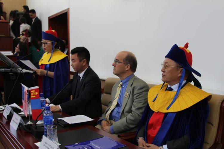 Кристофер Этвуд: Монгол, Америк хоёр орны шинжлэх ухааны салбар дахь найрсаг хамтын ажиллагаа улам өргөжих болтугай