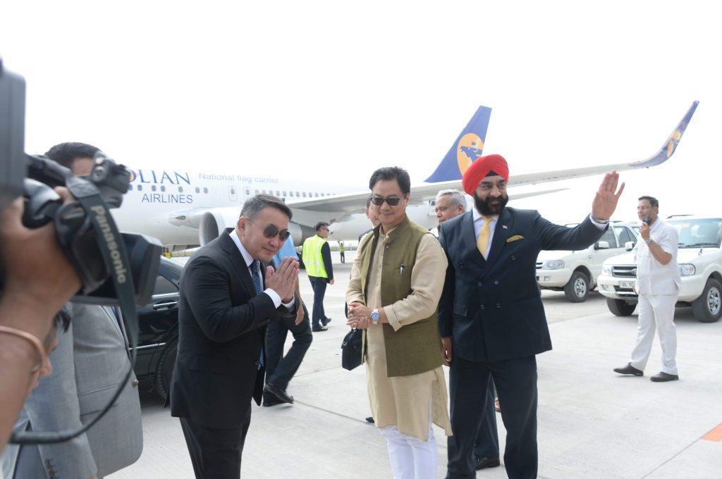 Ерөнхийлөгч Х.Баттулгыг Энэтхэг улсын Ерөнхийлөгч Рам Натх Ковинд албан ёсоор угтан авлаа