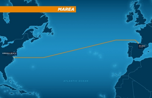 Facebook, Microsoft хоёр Атлантын далайн ёроолоор интернэтийн кабель татна