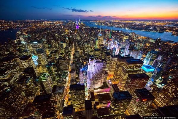 Нью-Йорк хотыг агаараас харахад /фото/