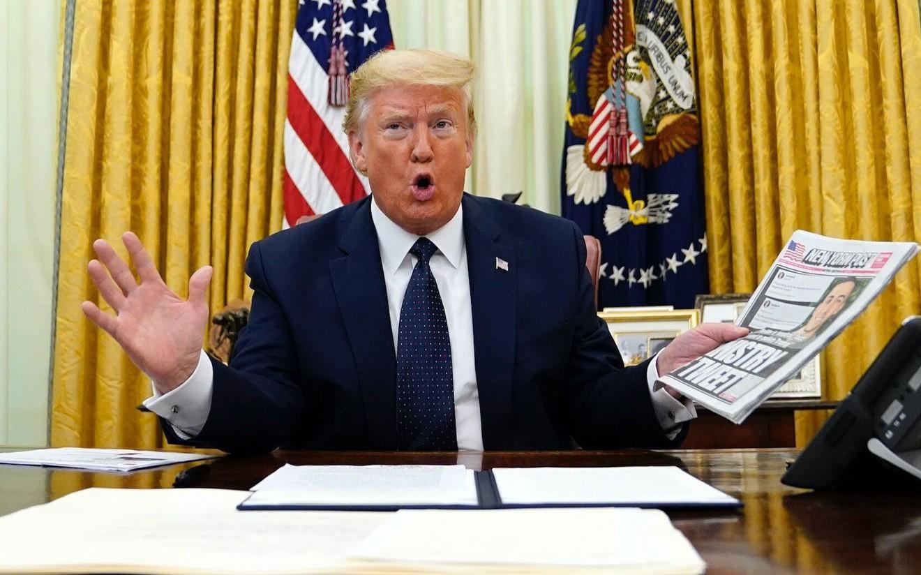 Доналд Трамп: Технологийн компаниудаас АНУ-ын иргэдийн үзэл бодол, үгээ чөлөөтэй илэрхийлэх эрх чөлөөг хамгаална