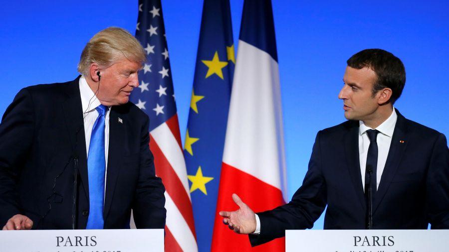 Д.Трамп, Э.Макрон нар терроризмтай тэмцэх асуудлыг хэлэлцжээ