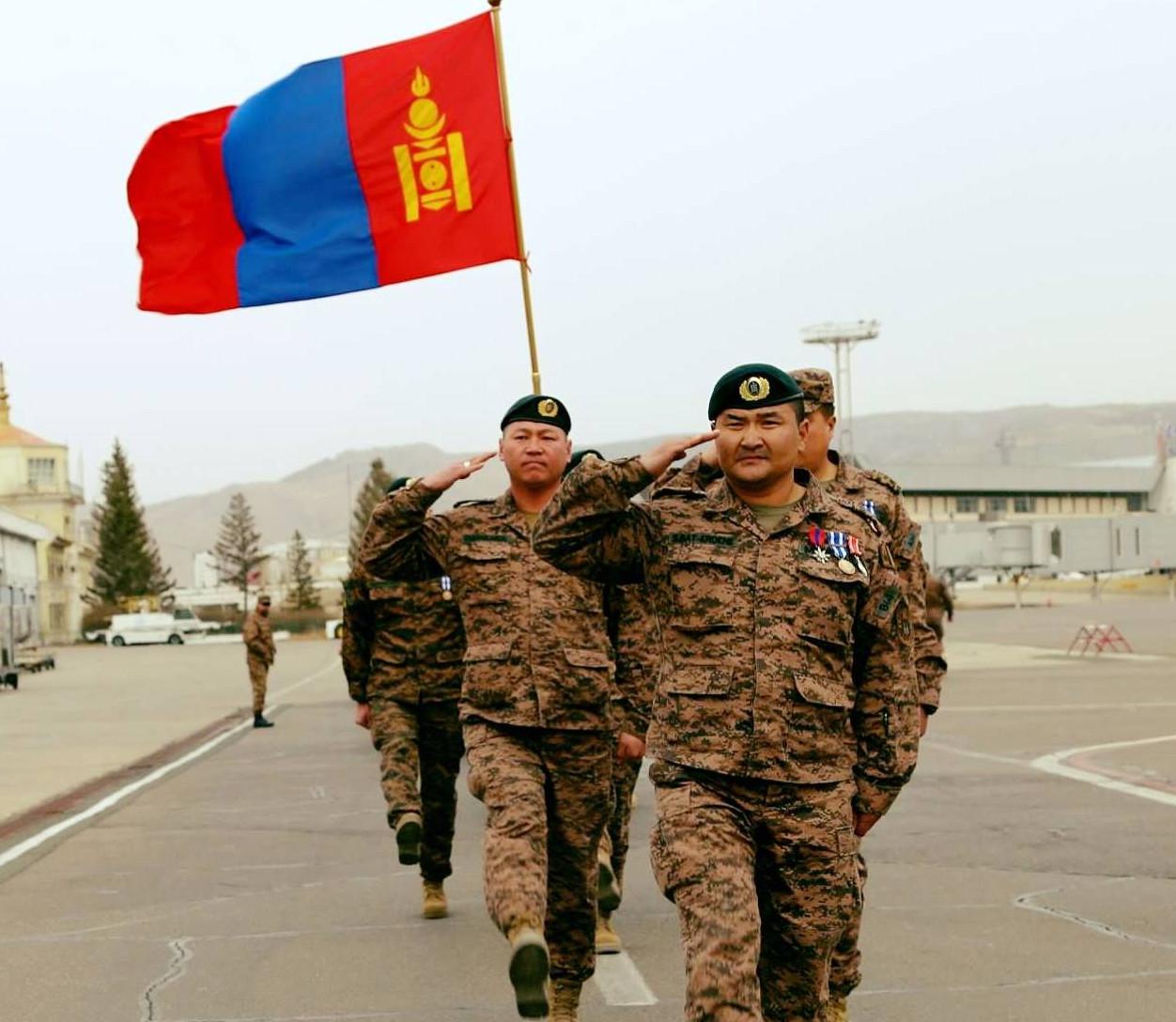 Данкон маршийн тэмцээнд монгол цэргүүд эхний 40 байрыг эзэлжээ