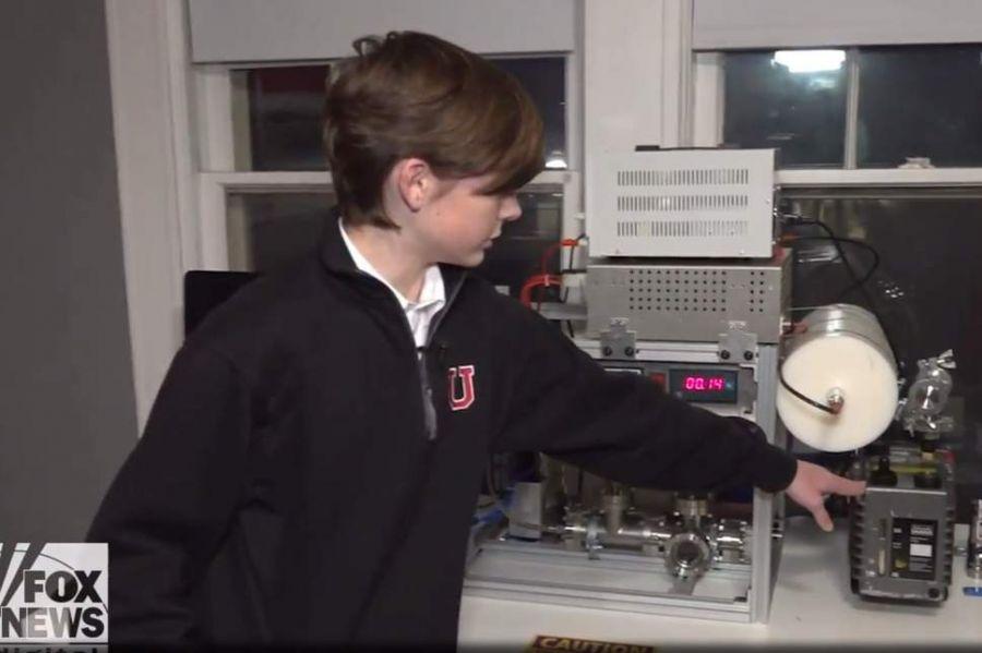 Сургуулийн сурагч цөмийн реактор бүтээжээ