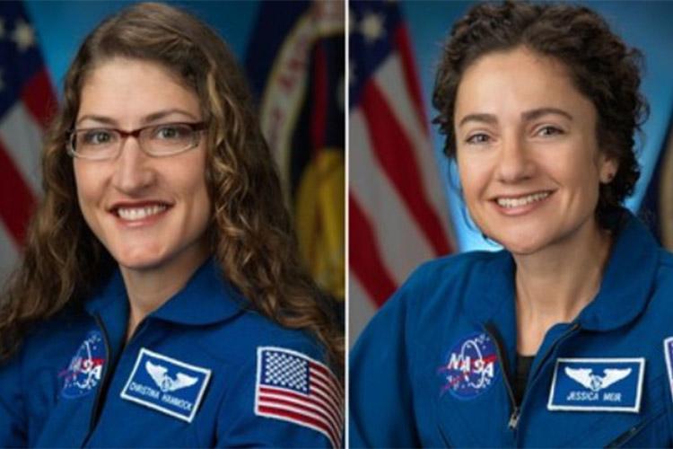 Түүхэнд анх удаа эмэгтэйчүүдийн баг задгай сансарт ажиллалаа