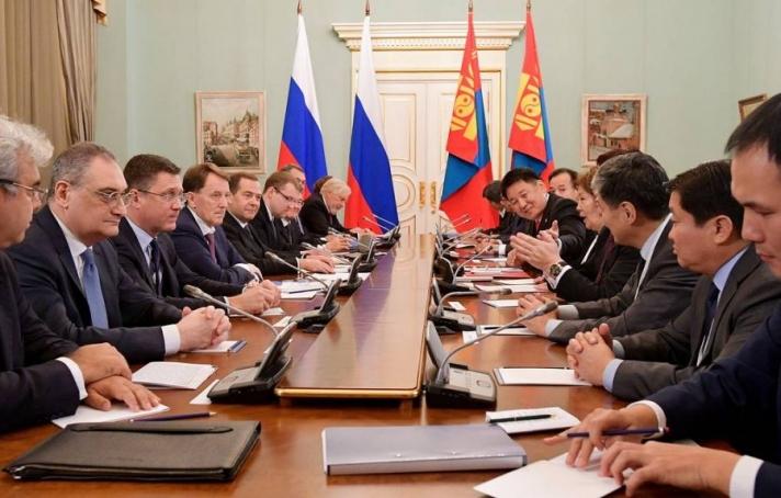 ОХУ, Монгол Улс эрчим хүчний салбарт хамтран ажиллах гэрээ байгууллаа