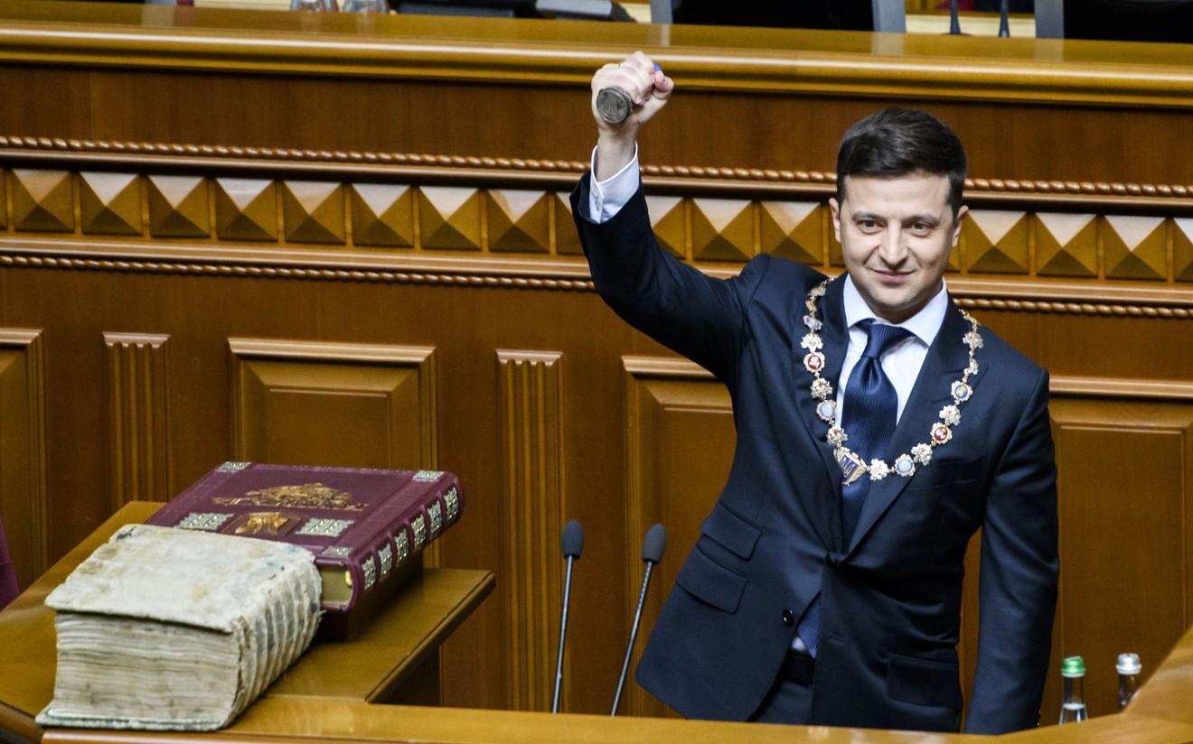Владимир Зелинскигийн Ерөнхийлөгчийн тангарах өргөх үеэрээ хэлсэн онцлох эшлэлүүд