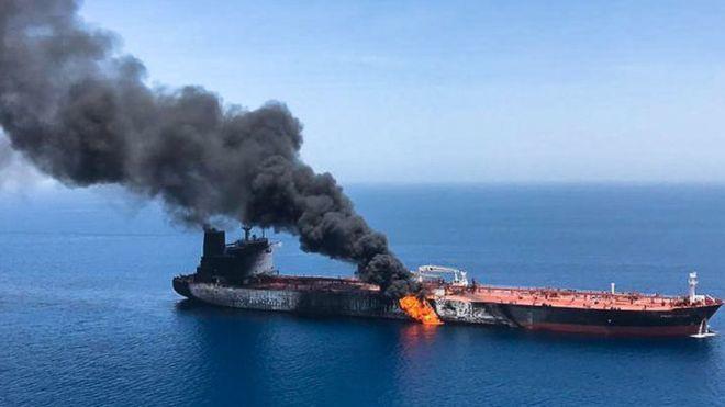 Танкерын дайн: АНУ, Иран нэгнээ буруутгаж байна