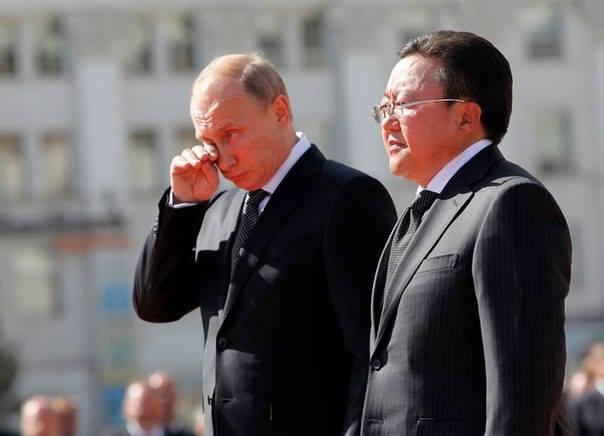В.Путин нэг биш нэлээд хэд уйлсан