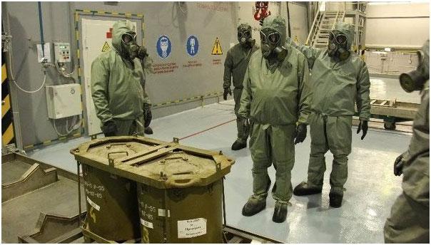Сирийн химийн зэвсгийн эдийн 75 %-ийг устгажээ