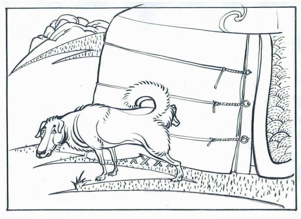Монгол гэрийн баруун урд туургыг гөвдөггүй