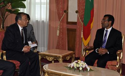 Хятад Мальдив далай тэнгисийн хамтын ажиллагаагаа эрчимжүүлнэ