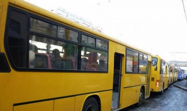 Хувийн автобус компанийн ажилчид ажил хаялаа