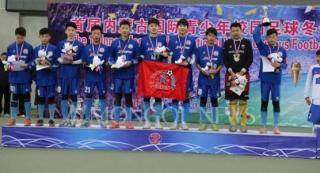 """""""Дэрэн"""" клубын хөлбөмбөгчид өмнөд хөршөөс мөнгөн медаль хүртжээ"""