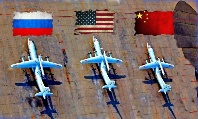 Америкийн нисэх хүчин Зүүн Хойд Азид цугларч байна