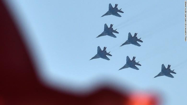 Москва Сирийн нутаг дэвсгэрт агаараас цохилт өгч эхэллээ