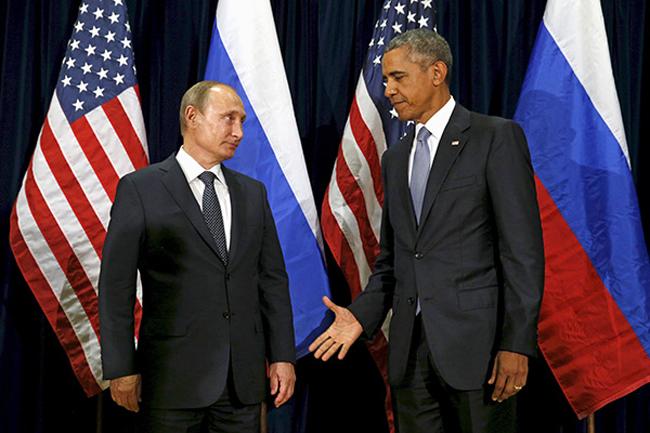 В.Путин Б.Обамаг доош нь хийв