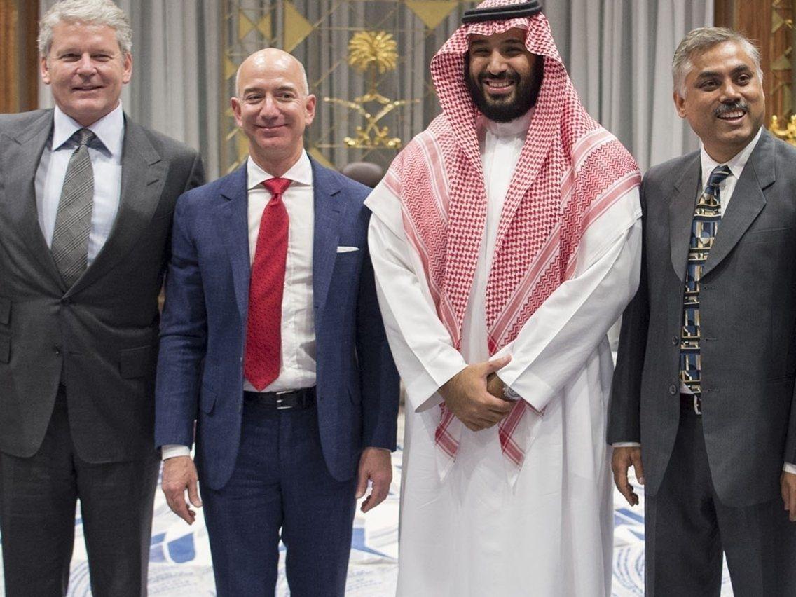Амазоны боссын гар утаснаас Саудын Арабын ханхүү хувийн мэдээллийг нь хулгайлжээ