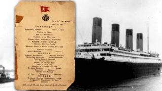 """""""Титаник""""-ийн сүүлчийн үдийн хоолны цэсийг дуудлагаар худалдана"""