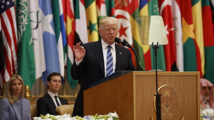 Терроризмтой тэмцэхэд хамтран ажиллахыг Д.Трамп уриаллаа