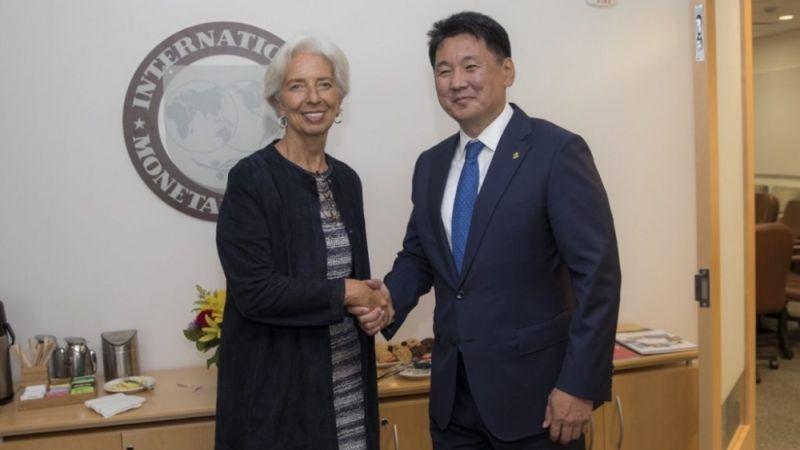 Ерөнхий сайд Олон улсын валютын сангийн тэргүүнтэй уулзав