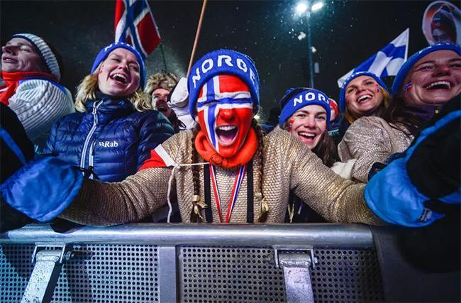 Медалийн тоогоор Норвеги тэргүүлж байна