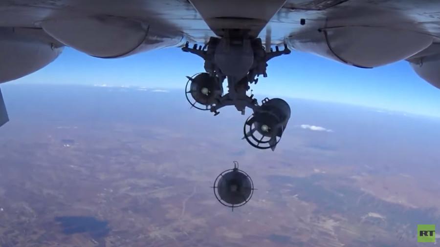 Оросууд бөмбөгдөлтийн үеийн бичлэгээ задлав