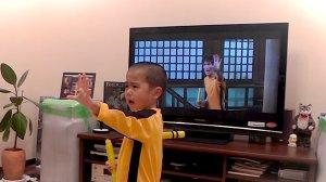 5 настай Bruce lee хүү