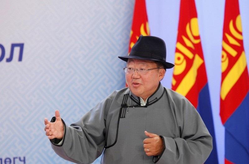 Ерөнхийлөгч Ц.Элбэгдорж