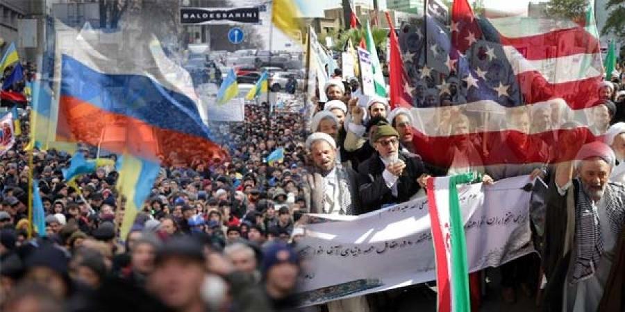 Украйныг Иранаар сольж, наймаалцах уу?