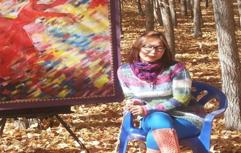 """Зураач М.Анхцэцэг """"Цагаан уул"""" уран зургийн үзэсгэлэнгээ гаргана"""