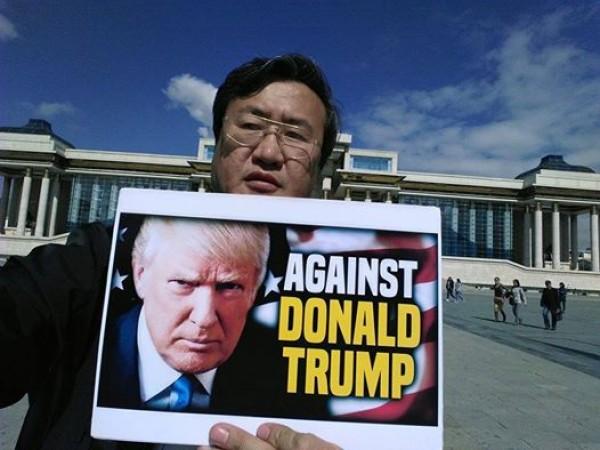 Трамп монгол бол хятадын хэсэг гэж мэдэгдсэн үү?
