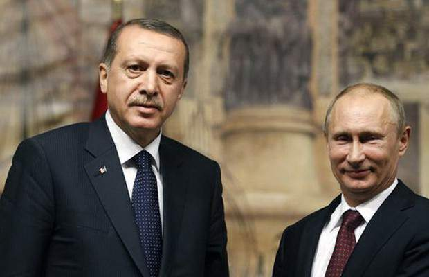 Эрдоган ирэх сард Путинтэй уулзана