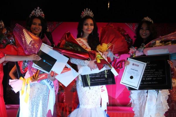 """""""Miss Mongolia-2014"""" тэмцээний ялагчаар Ю.Балжидмаа тодорлоо"""