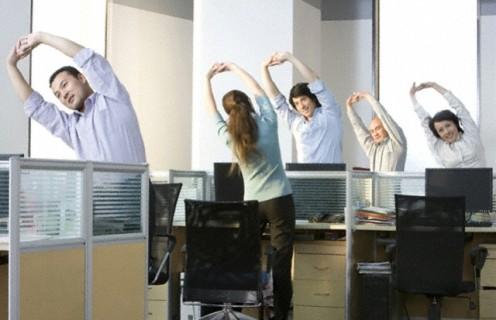 Ажлын байранд хийх дасгал