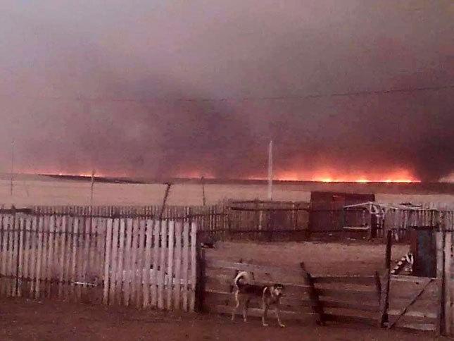 Түмэнцогт сумын 80 хувь нь түймэрт автаж, 20 айлын 22 гэр шатжээ