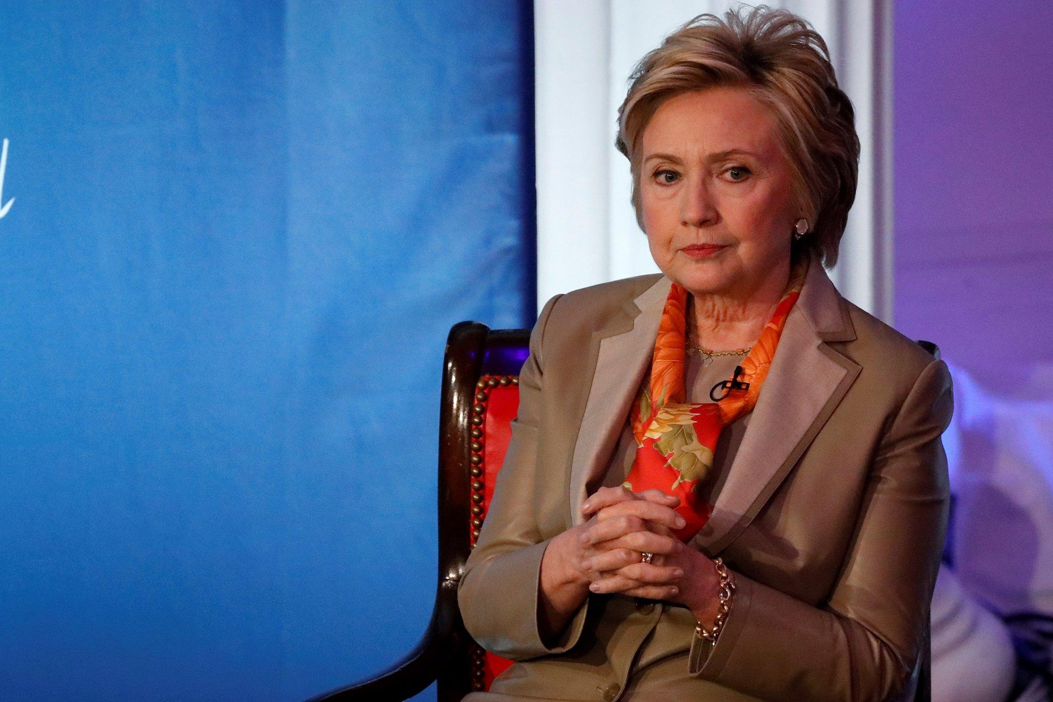 Хиллари Клинтон: Би Ерөнхийлөгч байсан бол гэх бодол одоо ч төрдөг