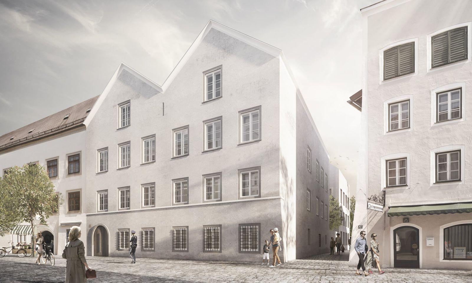 Австри улс Нацистуудын удирдагчийн төрсөн байшинг цагдаагийн байр болгох зураг төслөө танилцууллаа
