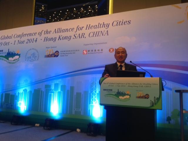 Нийслэлийн Эрүүл мэндийн газрын дарга Ш.Энхбат Дэлхийн Эрүүл хотуудын холбооны хуралд оролцож байна.