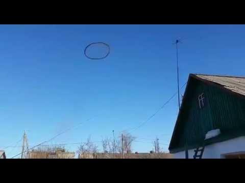 Тэнгэрт нууцлаг хар бөгж гарч Казахстаны оршин суугчдыг гайхуулжээ (бичлэг)