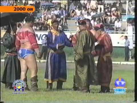 Монгол бөхийн түүх 1994 - 2004 /видео/