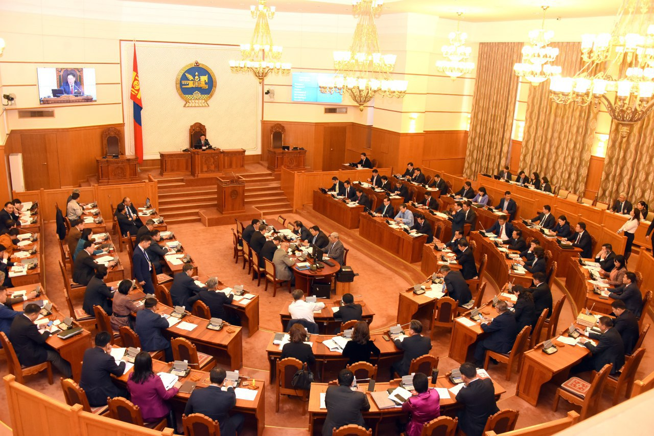 Парламентын ЗАСАГЛАЛ-д харшилсан ЗУРГАА дахь заалт