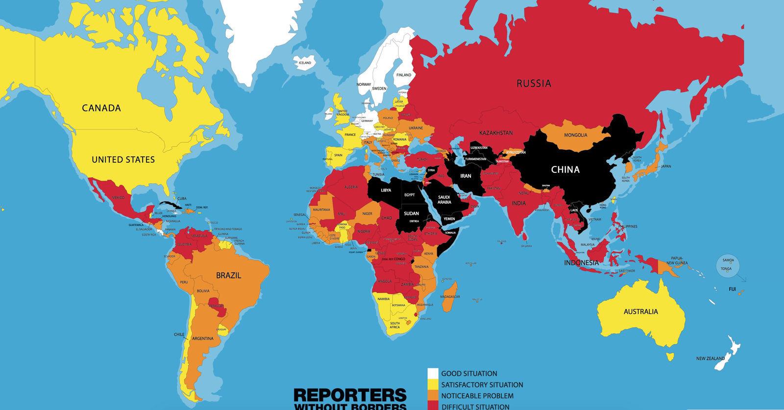 Монгол улс хэвлэлийн эрх чөлөөний индексээр 69-т жагслаа