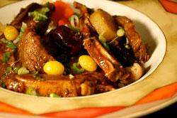 Солонгос хоол хийж сурцгаая: Үхрийн махан Калбижим