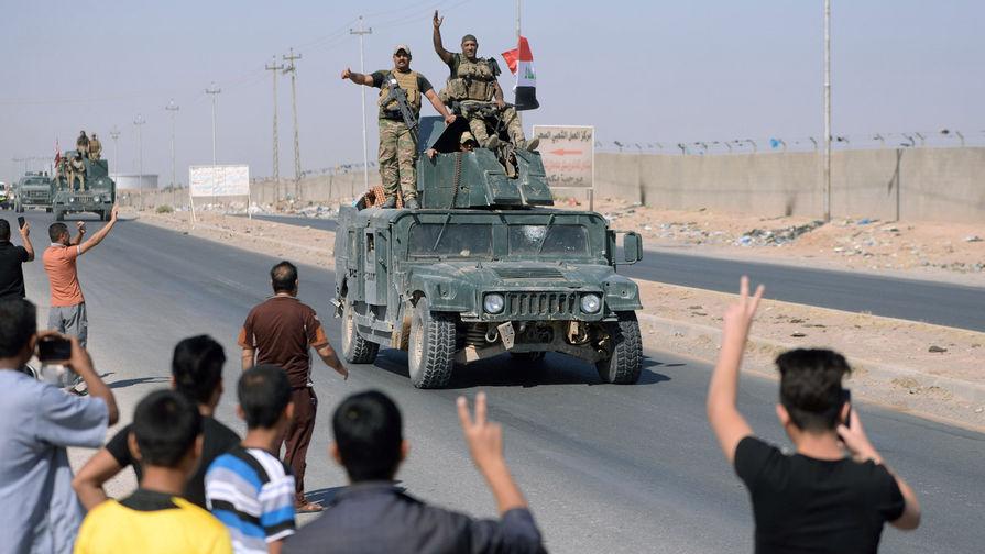 Иракийн засгийн газрын цэрэг Киркук хотыг авч курдчууд зайлан оджээ
