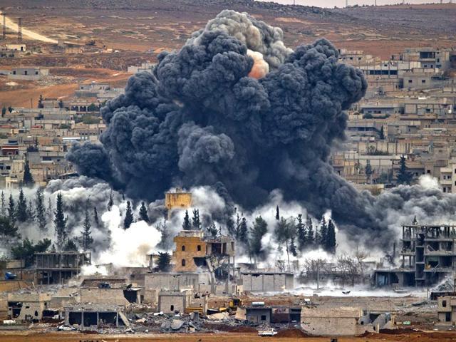 Францын онгоцууд Сирийг хайр найргүй бөмбөгдөж байна