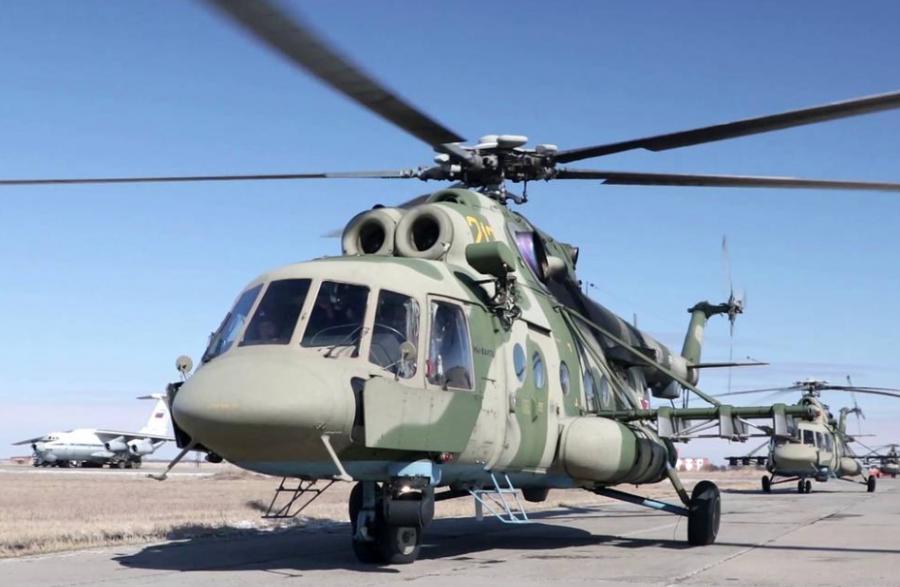 """ОХУ-д """"Ми-8"""" цэргийн нисдэг осолджээ"""