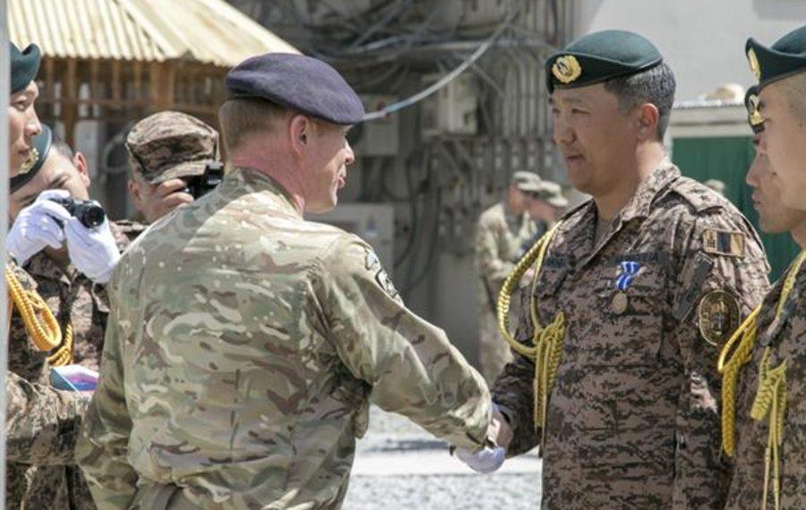 НАТО Монголын зэвсэгт хүчнийхний Афганистанд гүйцэтгэж буй үүргийг өндрөөр үнэлжээ