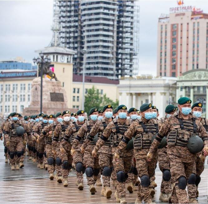 ФОТО: Монгол Улсаас Афганистанд АНУ-тай хамтран үүрэг гүйцэтгээд ирсэн цэргийн багуудад хүндэтгэл үзүүлэх ёслол