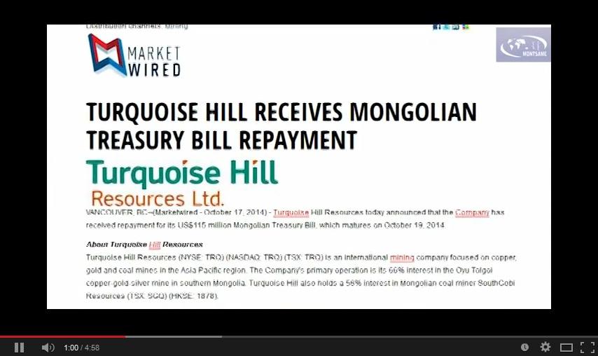 Монголын тухай дэлхий дахинд